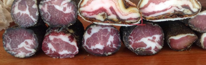 Chestnut pork Salumi