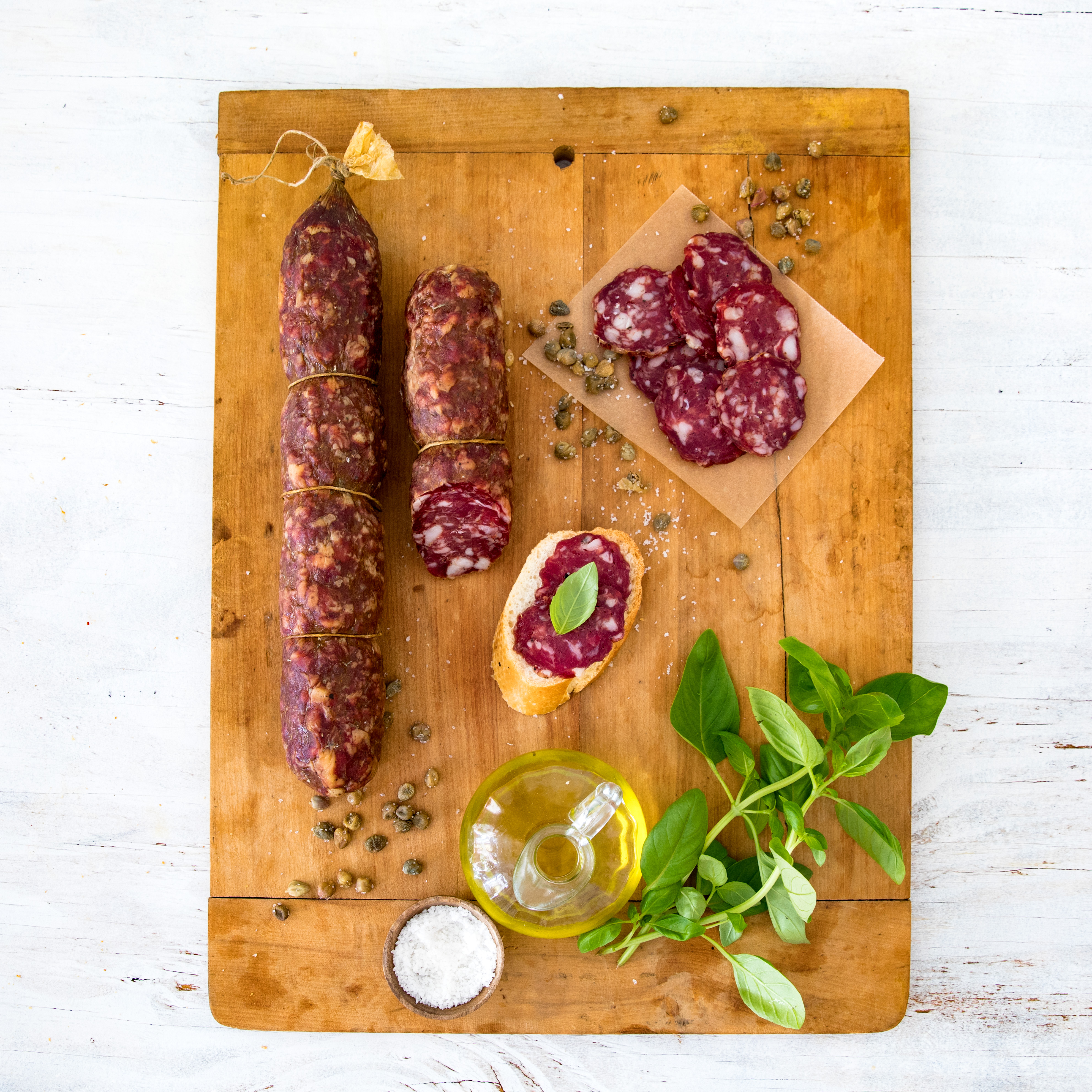 Contact Us to purchase salami